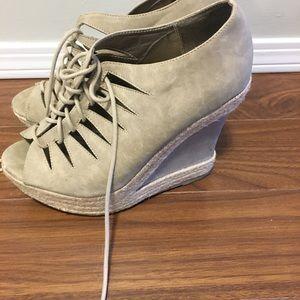 Wedge heels for sale!